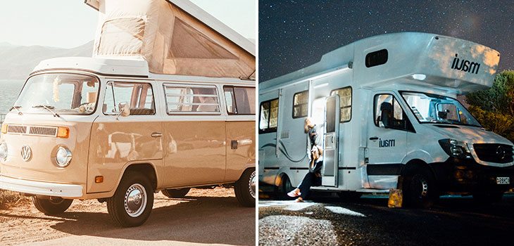 What Is The Difference Between A Campervan And A RV