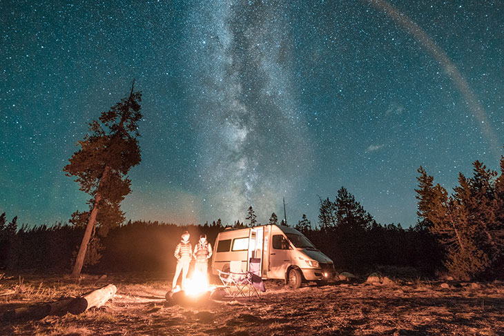 what is dispersed camping