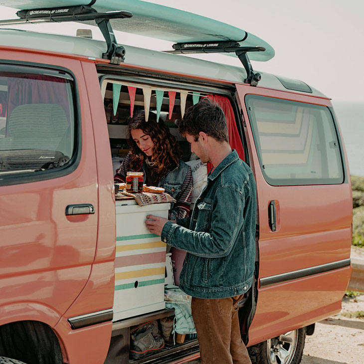 van life interview patchwork canteen