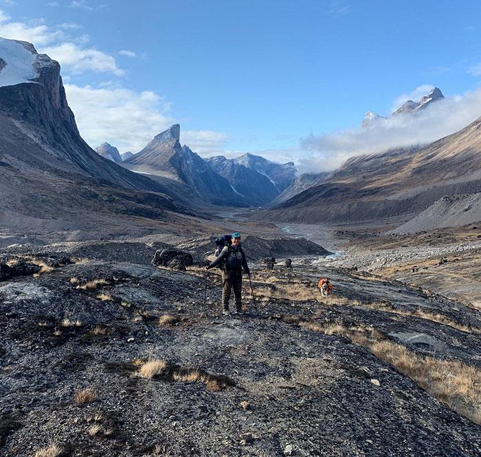 akshayuk pass, auyuittuq national park