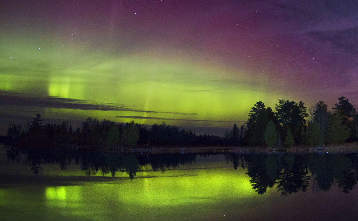 can you see the northern lights in minnesota