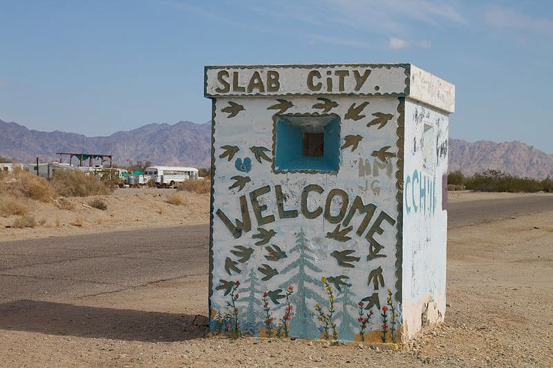 is slab city safe to visit