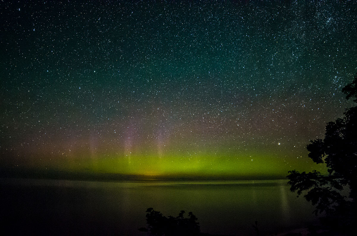 northern lights wisconsin