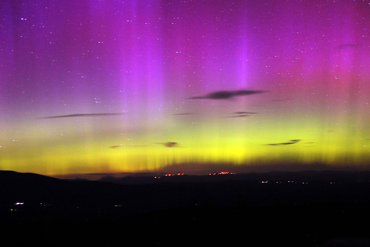 northern lights maine