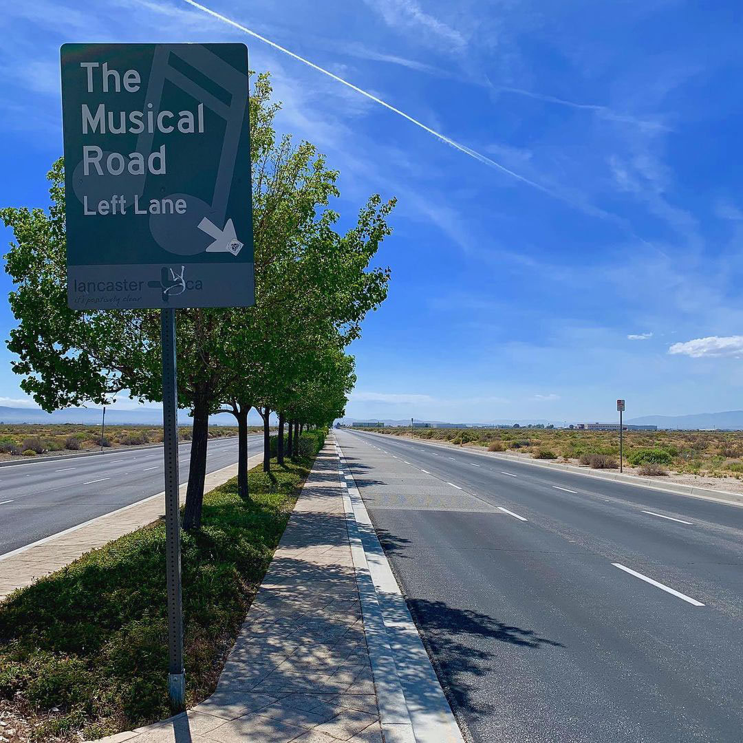 musical road california