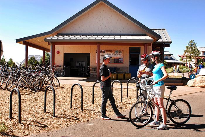 grand canyon bicycle rental