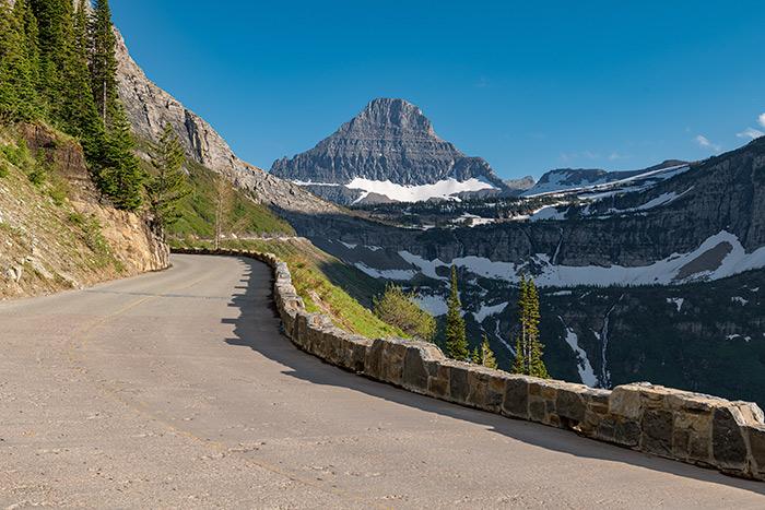 glacier national park without hiking