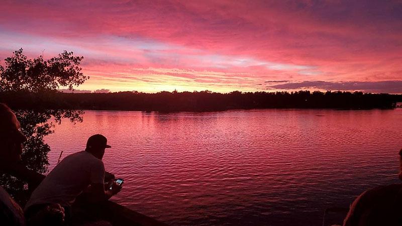 Lake Metigoshe north dakota