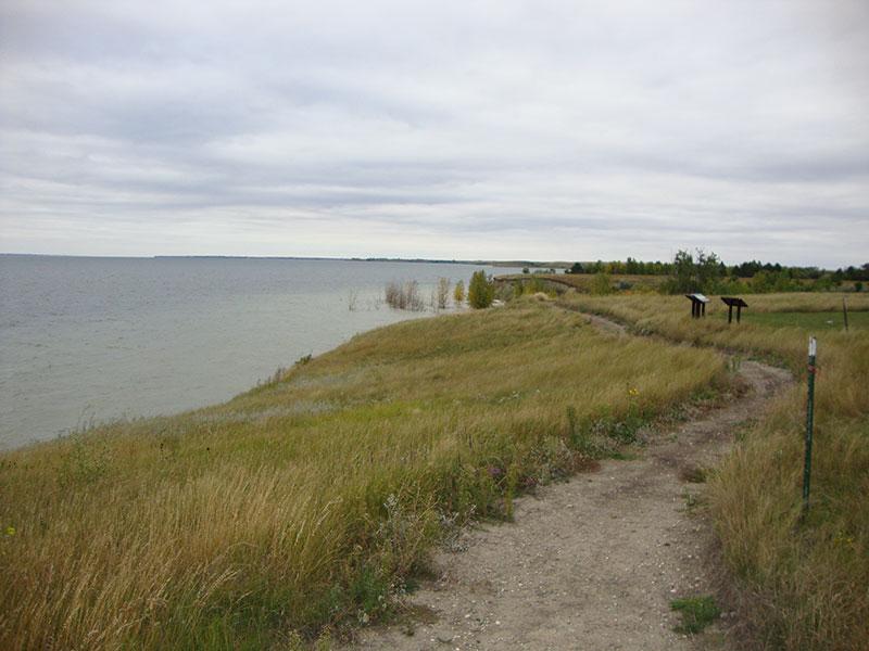 Lake Sakakawea at Fort Stevenson State Park, North Dakota
