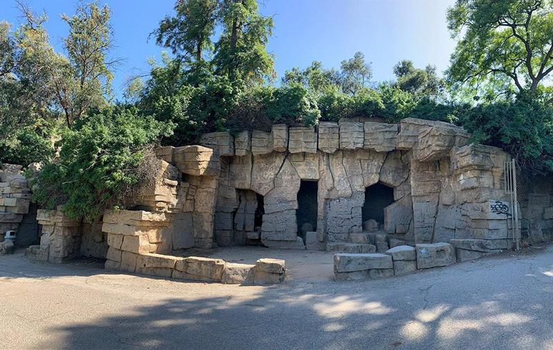 old zoo grifith park