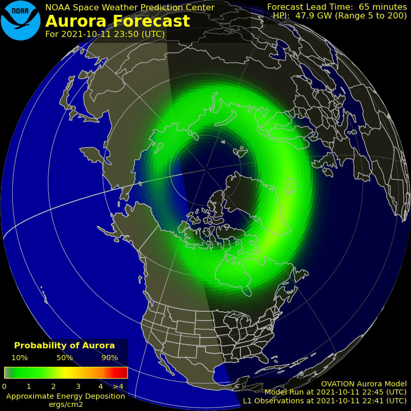 aurora forecast chicago